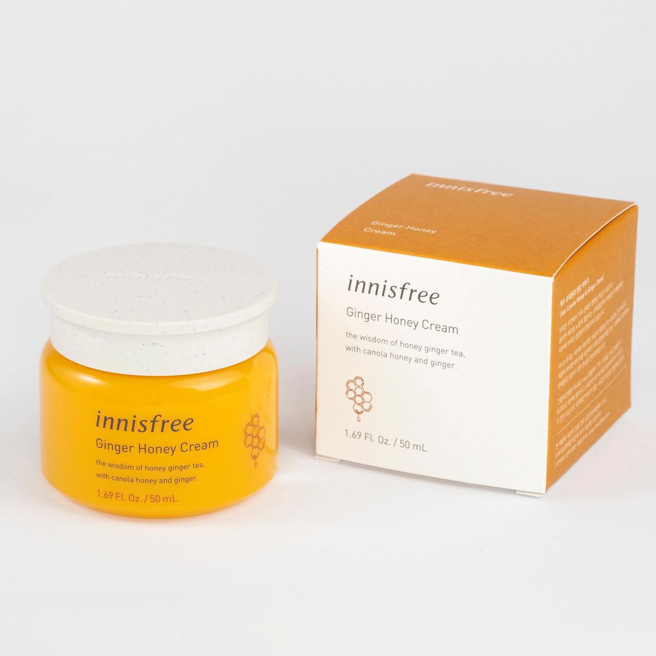 Крем на основі імбиру і меду Innisfree Ginger Honey Cream, 50 мл