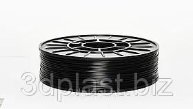 PLA (ПЛА) пластик 3Dplast для 3D принтера 1.75 мм 0.75, черный