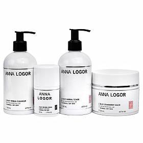 Набір косметики Anna LOGOR. Комплексний догляд. Серія для сухої шкіри обличчя
