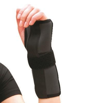 Шина-бандаж неопреновая для фиксации лучезапястного сустава (левая-правая) - Ersamed REF-601