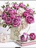 """Набір алмазної мозаїки """"рожеві троянди"""""""