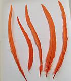 Пір'я півня Колір Помаранчевий 28-35см, фото 2