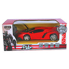 Машинка Трансформер Lamborghini Car Robot Size 18 - Червона, фото 3