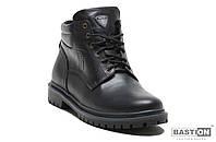 Мужские зимние кожаные ботинки Bastion 048, фото 1