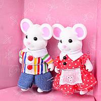 Набор игровых фигурок Крыс (Счастливая семья) IF238