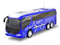 Автобус на радиоуправлении (звездный принт) со звуком и светом IM326