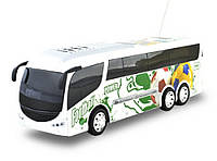 Автобус на радиоуправлении (футбольный принт) со звуком и светом IM320