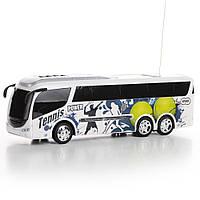 Автобус на радиоуправлении (теннисный принт) со звуком и светом IM318