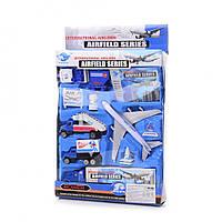 Игровой набор самолет и техника (Аэропорт) IM276