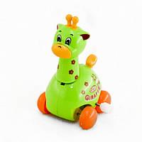 Заводная игрушка жираф на колесах (шт) IE447