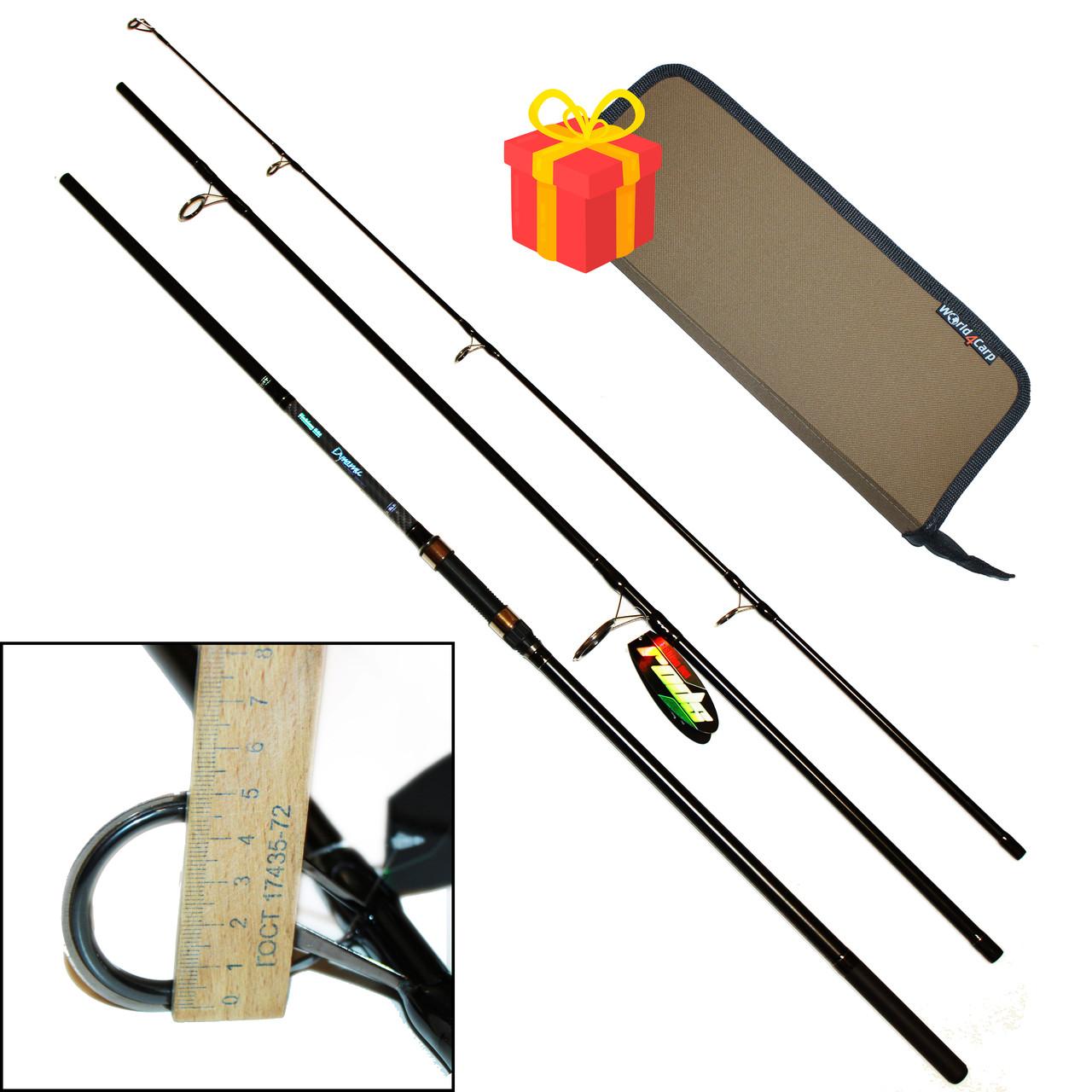 Спінінг короповий (карбон) Fishing ROI Dynamic Carp Rod 3.9 м.(перше кільце 50мм.)
