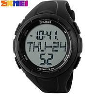 Часы наручные SKMEI 1122 black Pedometr