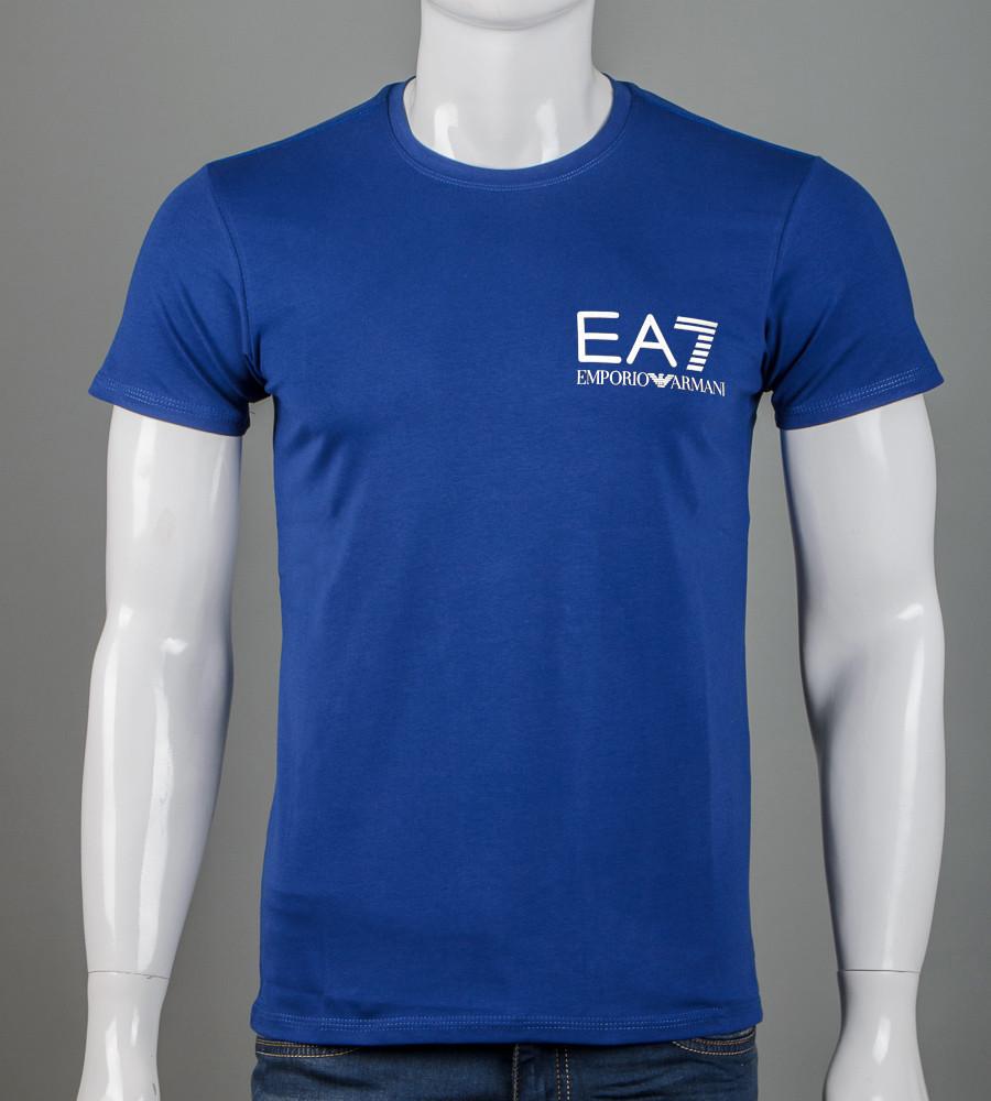Футболка чоловіча EA7 Armani (2155м), Синій