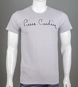 Футболка мужская Pierre Carden (2157м), Св.Серый