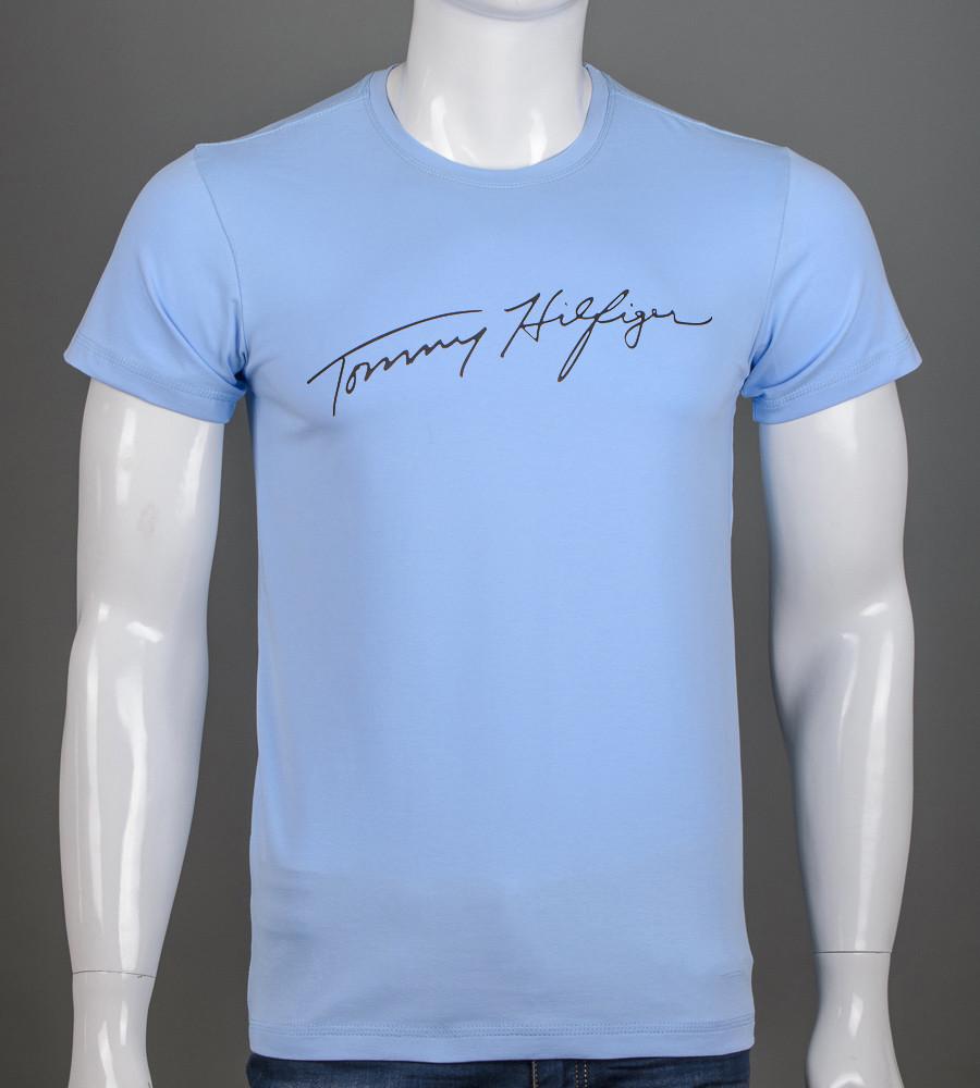 Футболка чоловіча Tommy Hilfiger (2156м), Блакитний