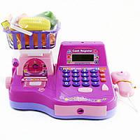 Детский кассовый аппарат на батарейках IE401