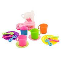 Игровой набор с детской посудой и соковыжималкой IE353