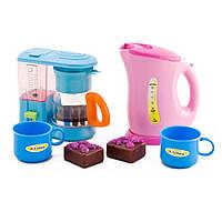 Детский кухонный набор с  электрическим чайником IE324