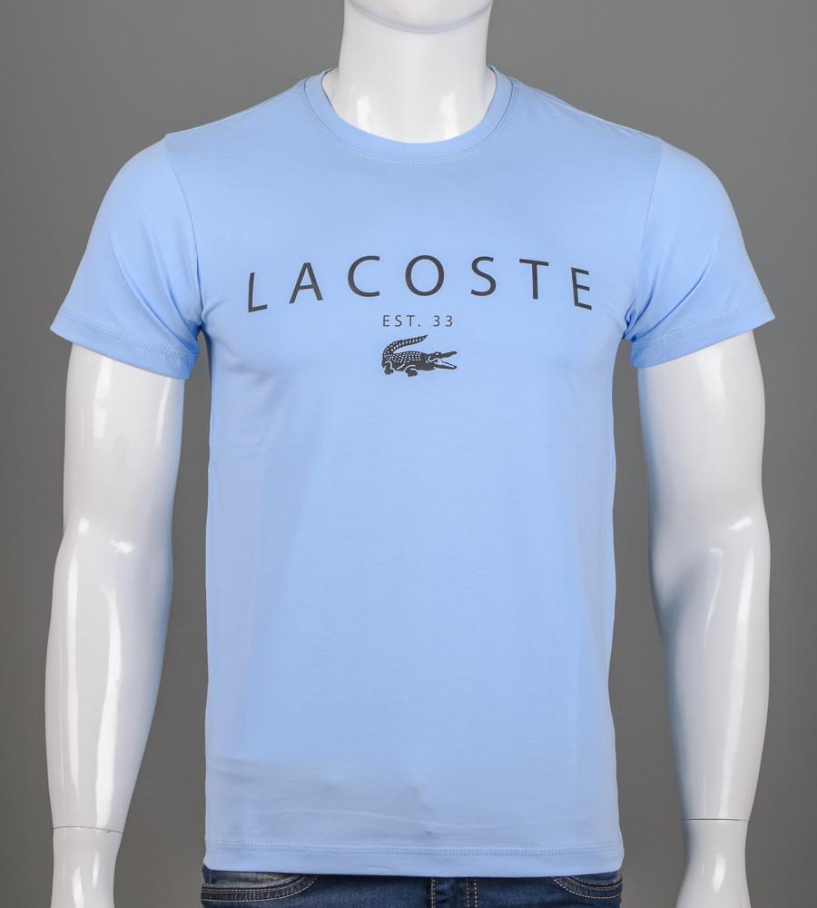 Футболка чоловіча LACOSTE (2006), Блакитний