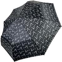 Женский полуавтоматический зонтик SL на 8 спиц с цветочным принтом, 310Е-6, фото 1