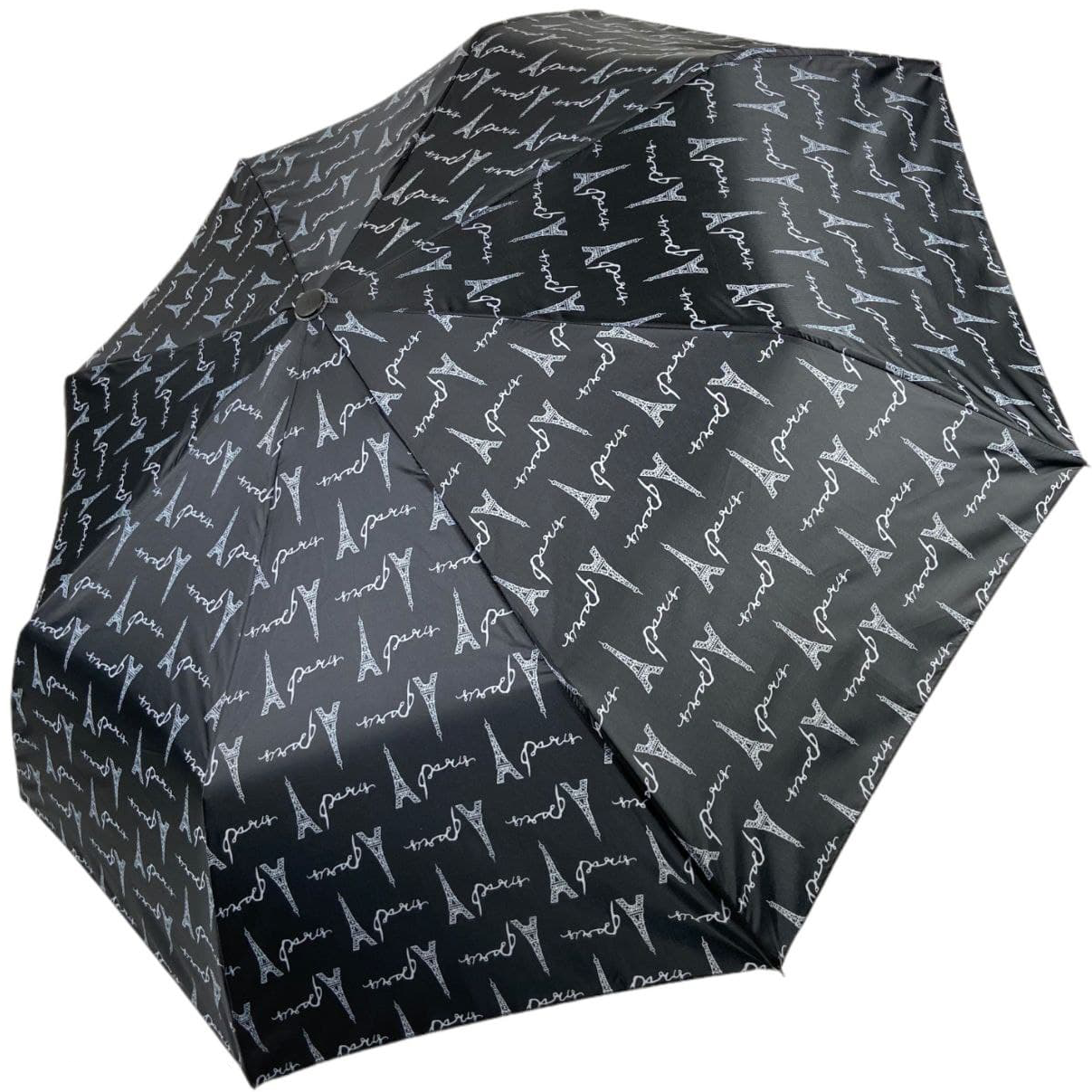 Женский полуавтоматический зонтик SL на 8 спиц с цветочным принтом, 310Е-6
