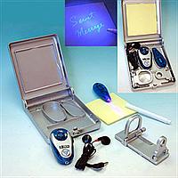Игровой шпионский набор с лупой и прибором для прослушивания IE160