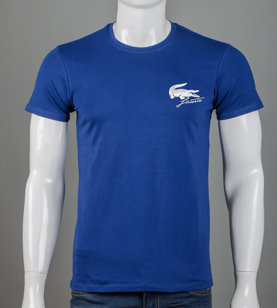 Футболка мужская Lacoste (2159м), Синий