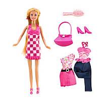 Кукла с одеждой и различными аксессуарами ID75