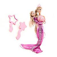Кукла русалка с дочкой и аксессуарами ID74