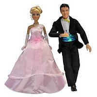 Набор кукол с аксессуарами (Жених и Невеста) ID69