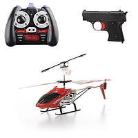 Вертолет на радиоуправлении с пистолетом и подсветкой IM199