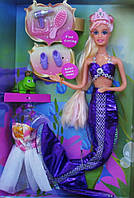Набор кукла русалка с различными аксессуарами и одеждой (Lucy) ID53