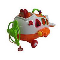 Детская игрушка сортер самолет IM76