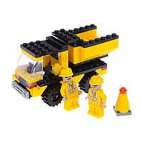 Детский конструктор (Строители) грузовик IM65B