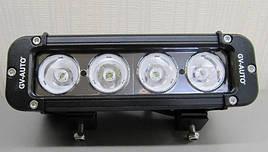 Додаткова фара LED GV-S1040S дальнього світла - 40 Вт - 20 см (11502)