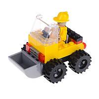 Детский конструктор (Городские строители) экскаватор IM65A