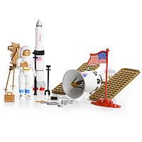 Игровой набор космический спутник с космонавтом и аксессуары (Планета путешествий) IM66A2