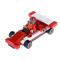 Детский конструктор (Гонка) гоночная машина и гонщик IM64A1