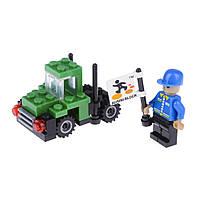 Детский конструктор (Город) трактор IM63C