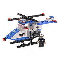 Детский конструктор (Патруль) полицейский вертолет IM62D