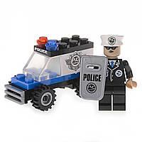 Детский конструктор (Патруль) внедорожник с полицейским IM62A