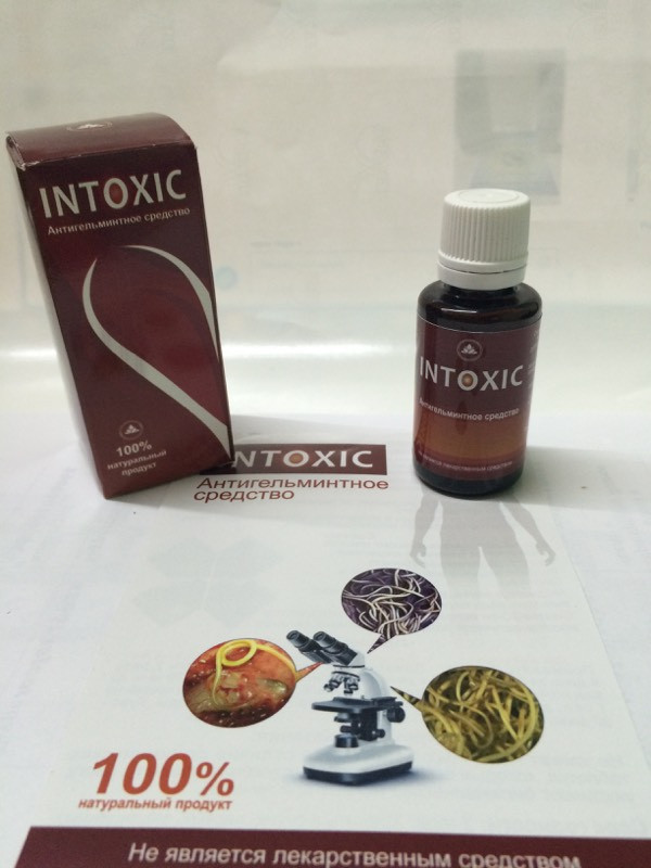 INTOXIC - Антигельмінтну засіб (Интоксик)