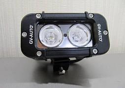 Додаткова фара LED GV - S1020F робочий світ 20 Вт - 12 см (11501)