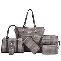 Женский стильный набор сумок 6 в 1, фото 1
