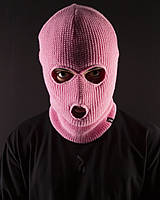Балаклава унисекс Пушка Огонь нежно-розовый, фото 1
