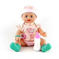 Кукла малыш для девочек с бутылочкой ID117