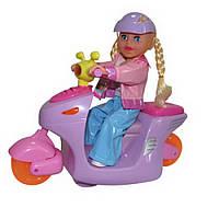 Танцующая кукла на мотоцикле (со светом и звуком) ID5
