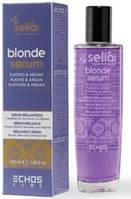 Сыворотка для светлых и окрашенных волос Seliar Blond Serum, Echosline 100 ml.