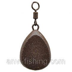 Груз карповый Anvi - Плоский - 10 шт/уп. Вес 30 грамм
