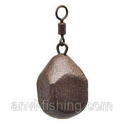 Груз карповый Anvi - Куб (груша) - 10 шт/уп. Вес 60 грамм